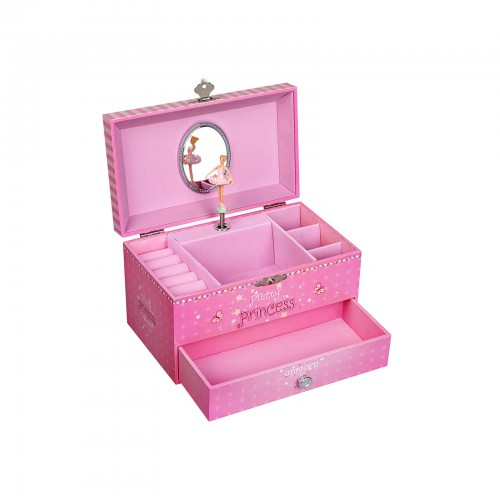 "Musikspieldose ""Pretty Princess"" Pink"