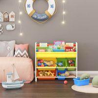 Kinderregal für Spielzeug & Bücher