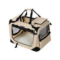 Haustier-Transporttasche Beige L