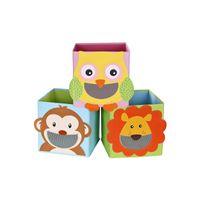 Spielzeugkisten 3er Set