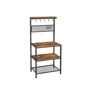 Küchenregal Gitter Industrie-Design