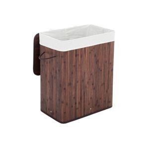 Wäschekorb Bambus 100 L Braun 1 Fach