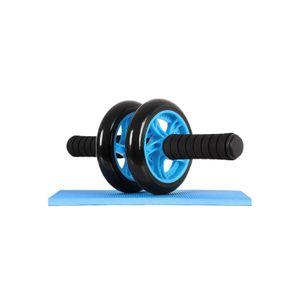 Bauchroller mit Trainingsmatte Blau