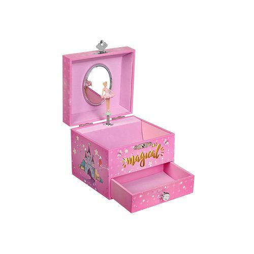 """Spieluhr """"Magisches Einhorn"""" Pink"""