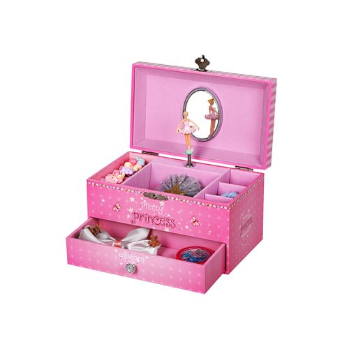 "Musikspieldose ""Pretty Princess"" Pink"