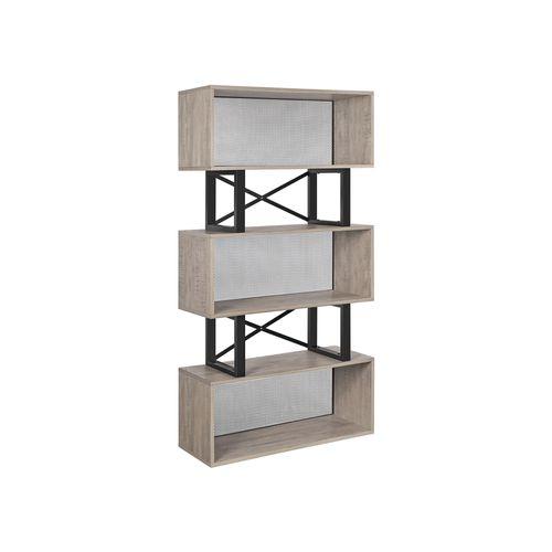 Modernes Bücherregal mit Stauraum