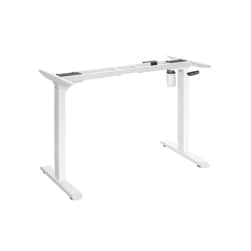 Tischgestell höhenverstellbar weiß