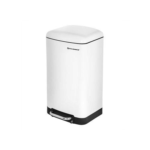 Mülleimer 30 L Weiß