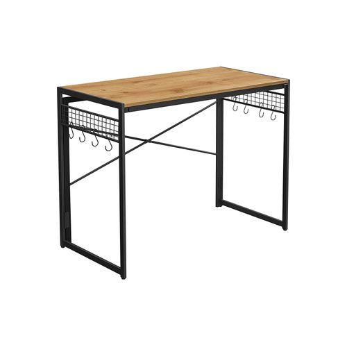 klappbarer Schreibtisch mit 8 Haken LWD042B05