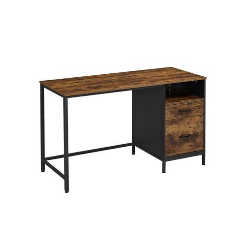 Computertisch mit Aktenschrank