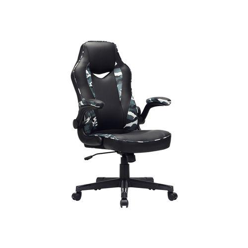 Bürostuhl schwarz-tarnfarben
