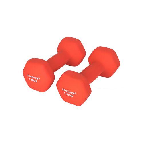 5kg Vinyl Kurzhanteln Gewichte Hantelset Fitness Aerobic 2er Set hochwertig