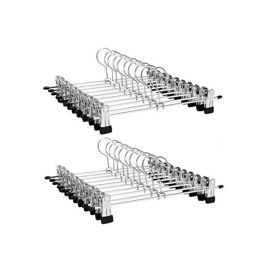 Hosenbügel aus Metall 20 Stück