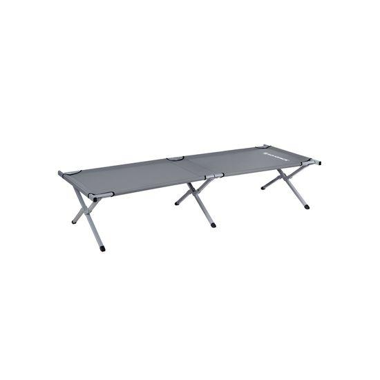 Feldbett 210 x 72 x 45 cm Grau