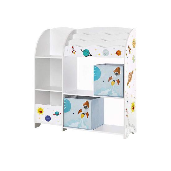 Organizer für Spielzeug und Bücher
