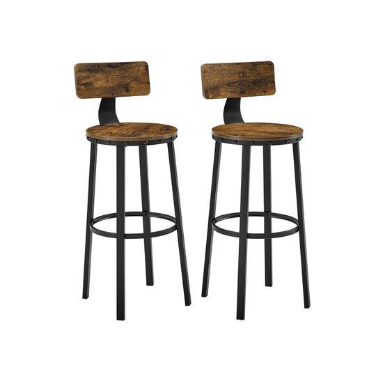 2er Set Barstühle Industrie-Design