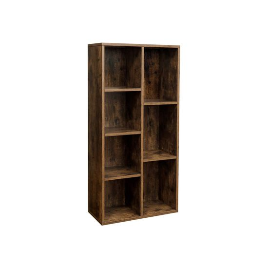 Bücherregal mit 7 Fächern
