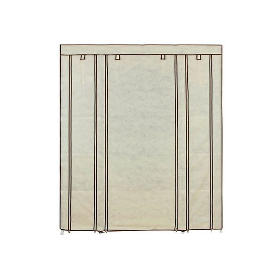 Kleiderschrank 175 x 150 cm Beige