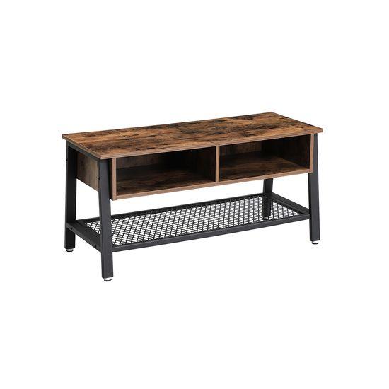 Industrie-Design TV-Tisch 2 Fächer