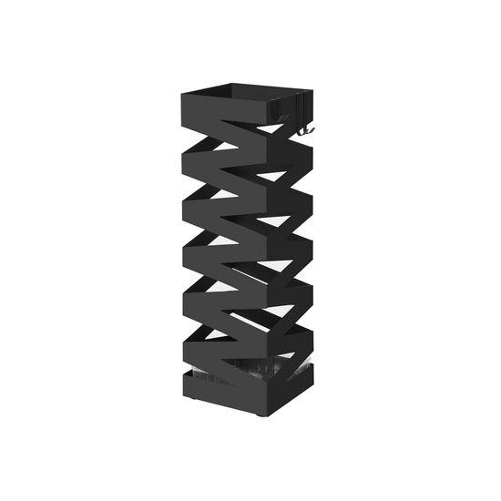 Schirmständer Quadratisch Schwarz