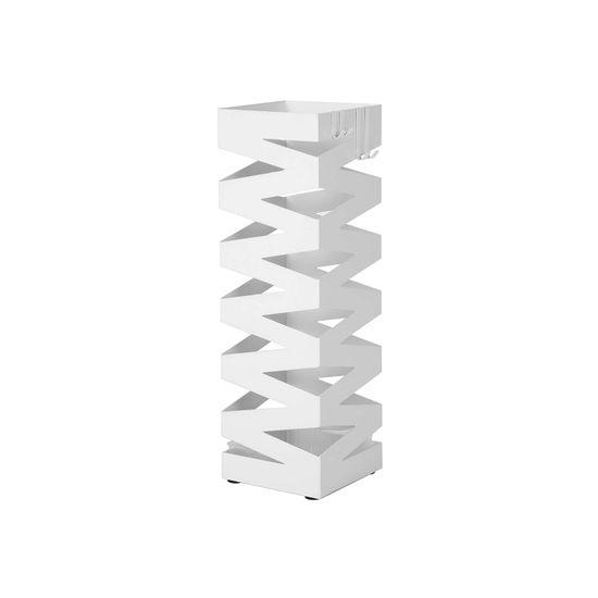 Schirmständer Quadratisch Weiß