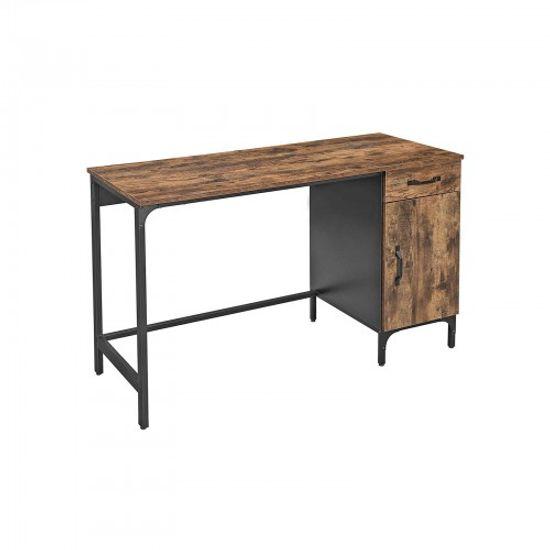 Computertisch mit Schublade und Schrank