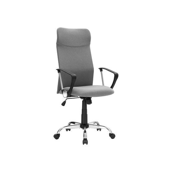 ergonomischer Schreibtischstuhl grau