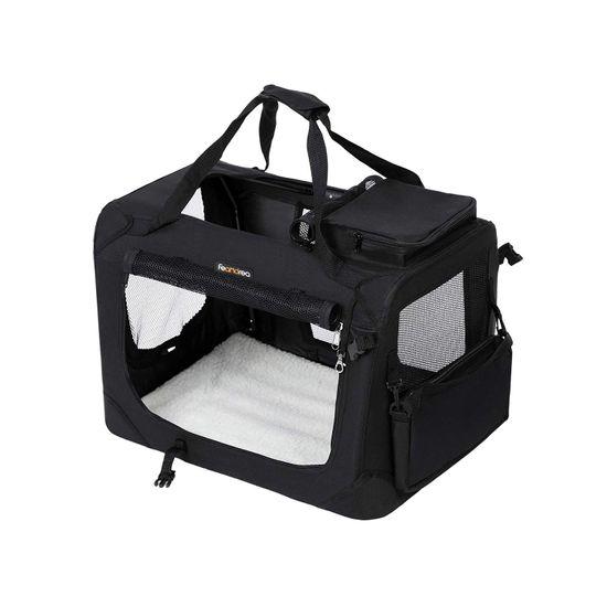 Haustier-Transporttasche Schwarz M
