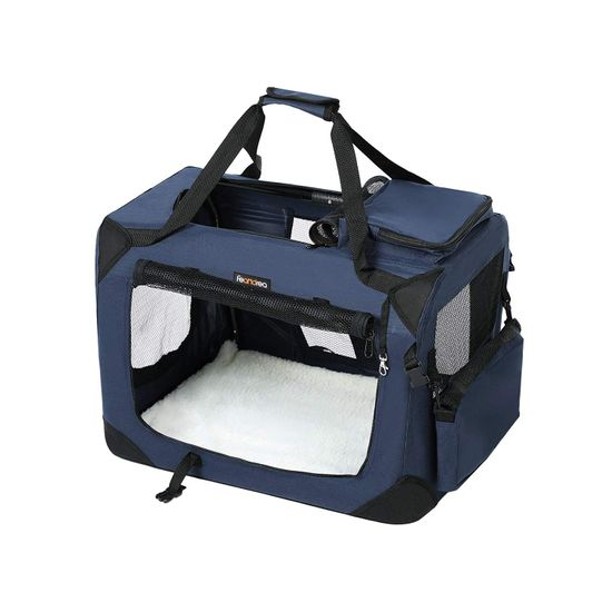 Haustier-Transporttasche Blau L