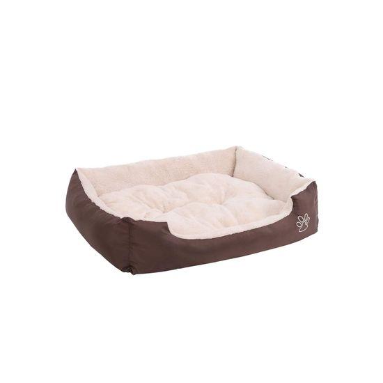 Hundebett Oxfordgewebe 75 cm Braun