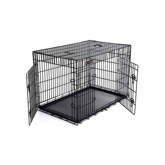 Hundekäfig XXXL mit 2 Türen
